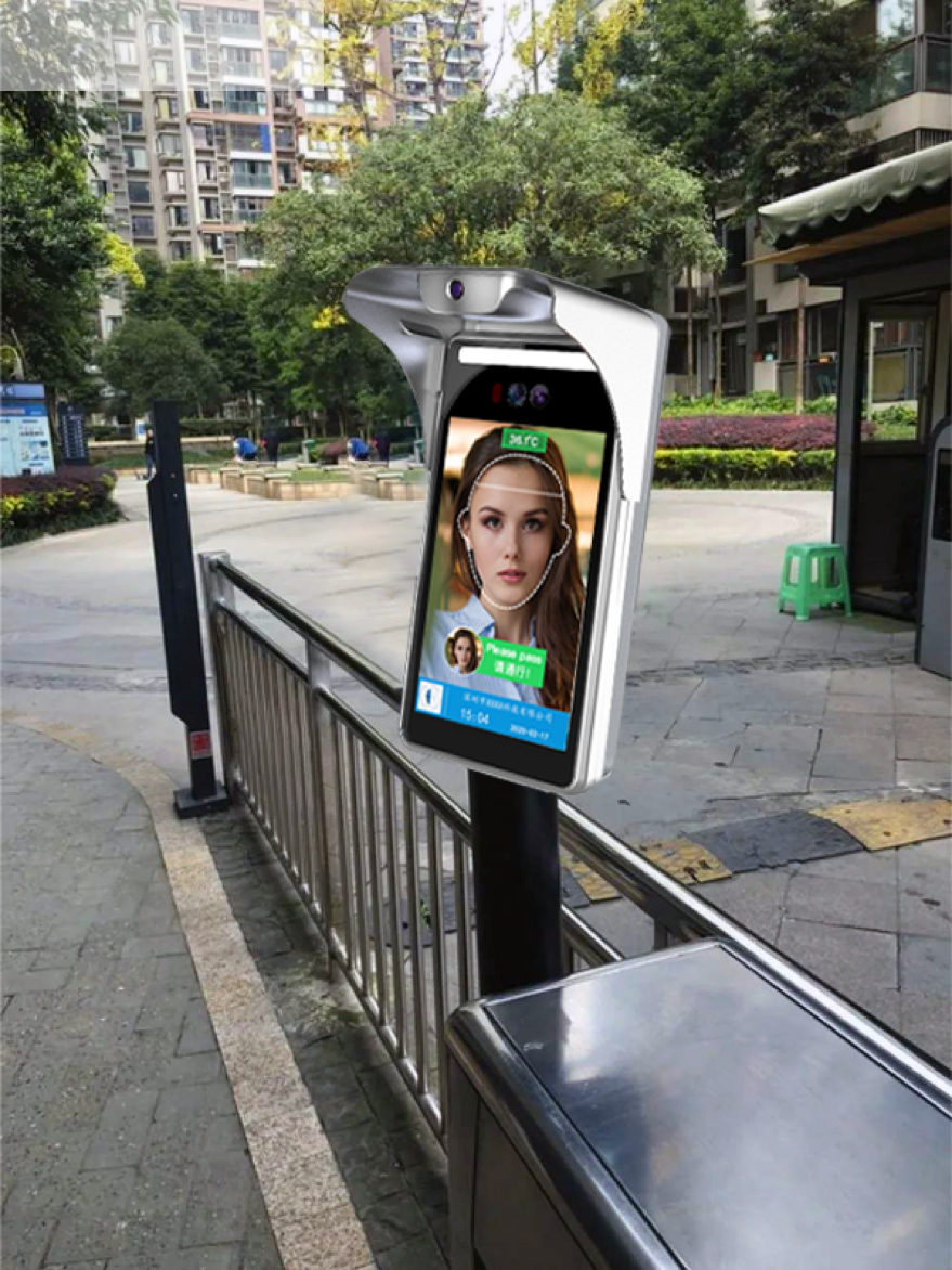 Shenzhen Jieyi has great advantage on community face recognition access control system design & function realization