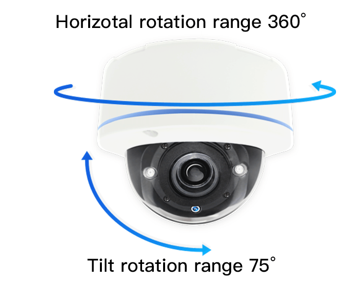 Face recognition dome camera
