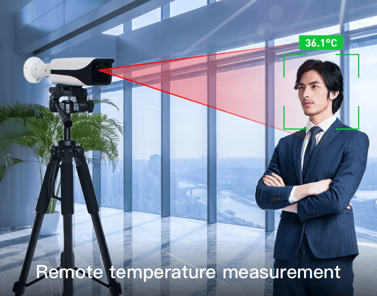 Infrared Thermal Imaging Temperature Measurement system