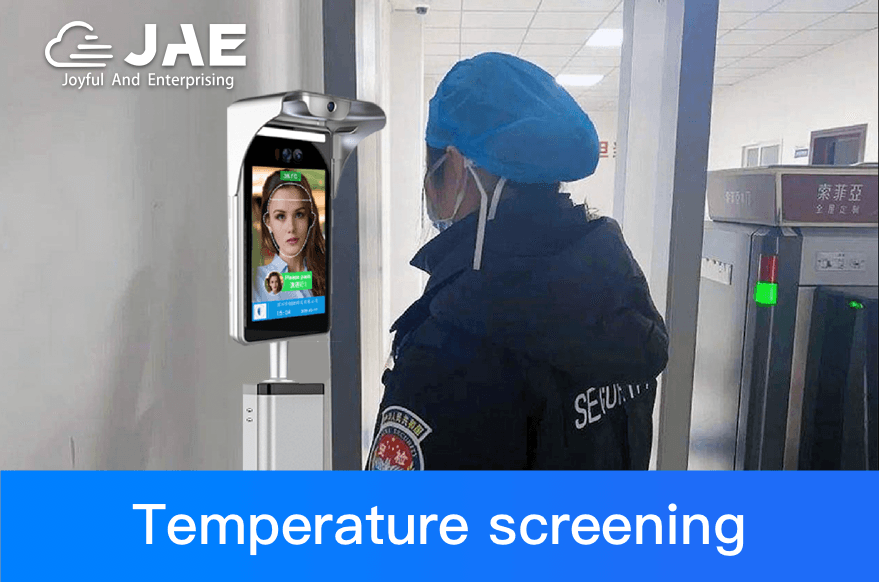 JAE face recognition thermometer helps prevent and control the outbreak of epidemics