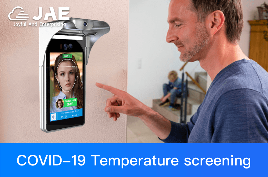JAE's Visitor Management System with Temperature Screening  Provides Fully Secure Facility Entry