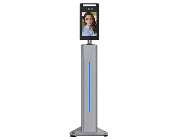 Gate Type Face Recognition Time Attendance Access Control Machine