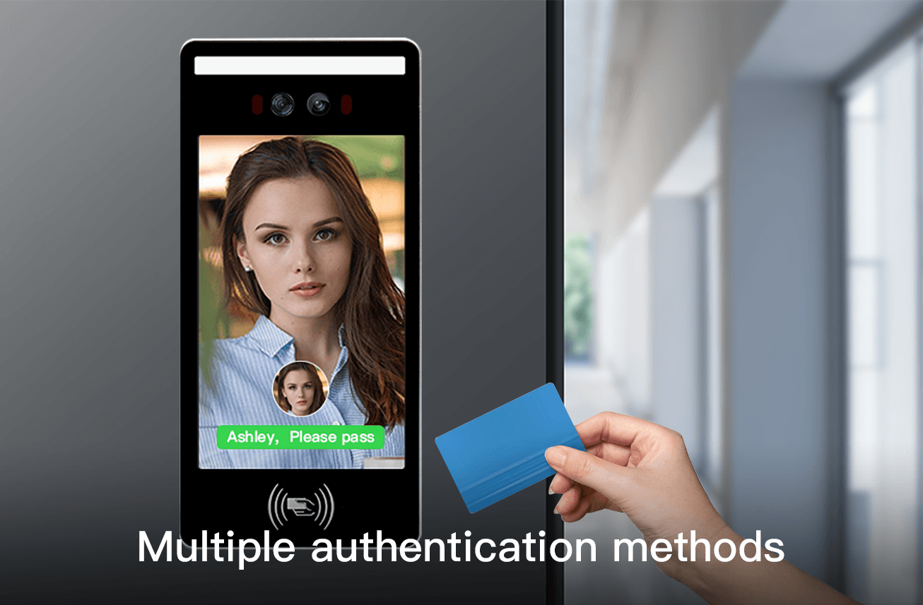 Multiple authentication methods